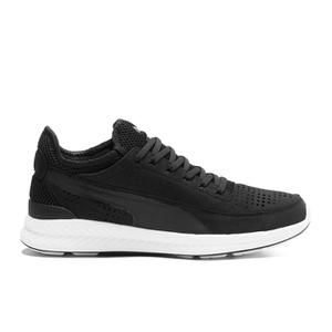 Puma Men's Running Ignite Sock Low Top Trainers - Black/White
