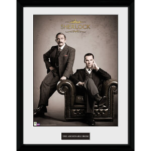 Sherlock Victorian - 16 x 12 Inches Framed Photographic