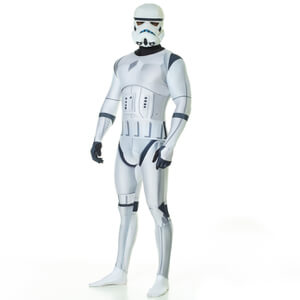 Morphsuit Star Wars Stormtrooper Deluxe -Adulte