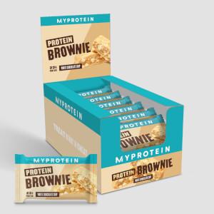 Myprotein White Chocolate Brownie, 12 x 75g