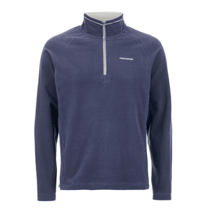 Craghoppers Men's Selby Half Zip Microfleece Jumper - Dusk Blue