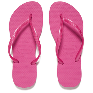 Havaianas Women's Slim Flip Flops - Shocking Pink