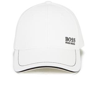 BOSS Green Men's Small Logo Cap - White