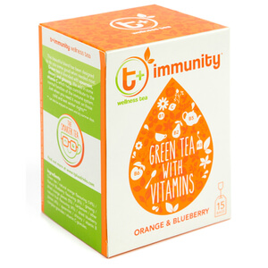 t+ Immunity Tea - Orange and Blueberry
