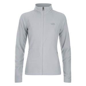 The North Face Women's Glacier Full Zip Fleece - TNF Light Grey Heather