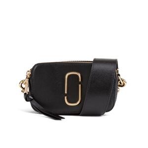 Marc Jacobs Women's Snapshot Colourblock Saffiano Small Camera Bag - Black