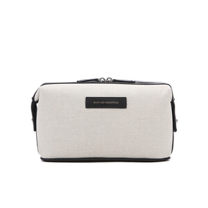 WANT LES ESSENTIELS Men's Kenyatta Dopp Kit - Ecru