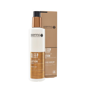 Sienna X Sleep Tinted Self Tan Lotion 200ml