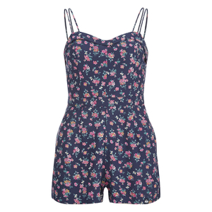 Superdry Women's Holiday Print Playsuit - Stem Floral
