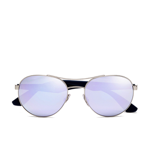b0349a7be41 Ray-Ban Bridge Aviator Sunglasses - Silver