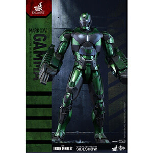 Figurine Mark XXVI Gamma -Iron Man 3- Sideshow Collectibles