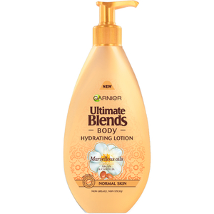 Loción hidratante Ultimate Blends Hydrating Lotion de Garnier Body (400 ml)