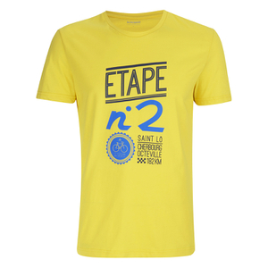 Le Coq Sportif Tour de France N6 T-Shirt - Yellow