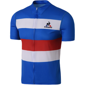 Le Coq Sportif Performance Classic N2 Short Sleeve Jersey - Tricolore