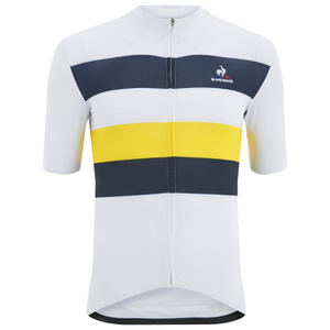 Le Coq Sportif Performance Classic N2 Short Sleeve Jersey - White