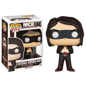 My Chemical Romance Black Revenge Gerard Way Funko Pop! Figur