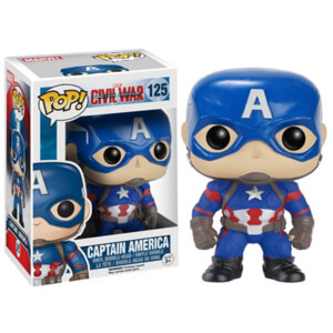 Marvel Captain America: Civil War - Captain America Figura Pop! Vinyl