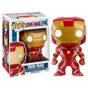 Marvel Captain America Civil War Iron Man Pop! Vinyl Figure