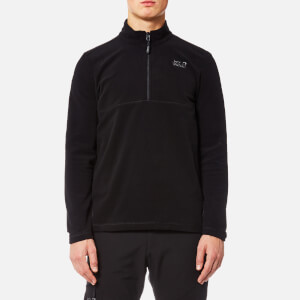 Jack Wolfskin Men's Gecko Fleece - Black