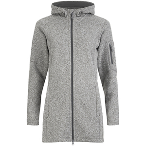 Jack Wolfskin Women's Caribou Parka - Light Grey
