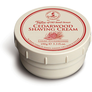 Taylor of Old Bond Street Shaving Cream -partavaahtopurkki ‒ Cedarwood (150g)