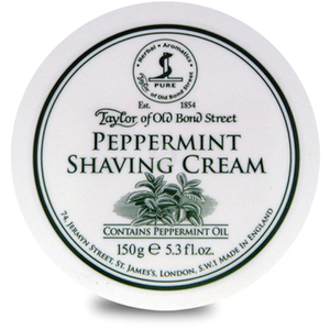 Taylor of Old Bond Street Shaving Cream -partavaahtopurkki ‒ Peppermint (150g)