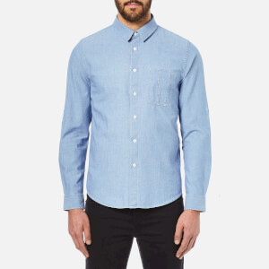 A.P.C. Men's Chemise Kansas Shirt - Indigo Delave