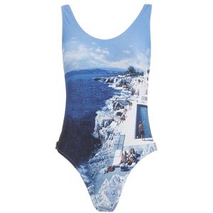Orlebar Brown Women's Almada Hulton Getty Roc Pool Swimsuit - Blue