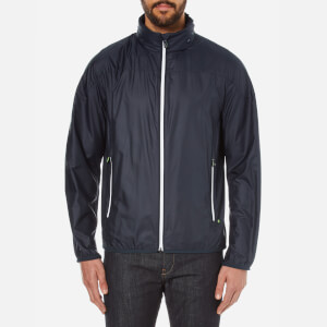 BOSS Green Men's Jiano Zipped Jacket - Navy