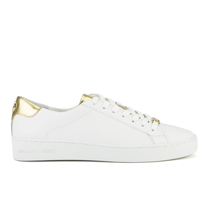 MICHAEL MICHAEL KORS Women's Irving Lace Up Trainers - White