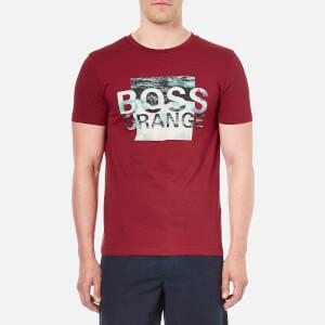 BOSS Orange Men's Terko 1 Logo T-Shirt - Red