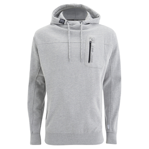 Crosshatch Men's Chalker Hoody - Grey Marl
