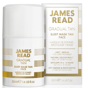 James Read Sleep Mask Tan Face -itseruskettava kasvonaamio, 50ml