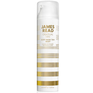 Masque de nuit autobronzant corporel James Read 200 ml