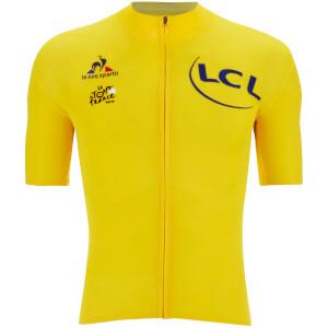 Le Coq Sportif Men's Tour de France 2016 Merino Short Sleeved Jersey - Yellow