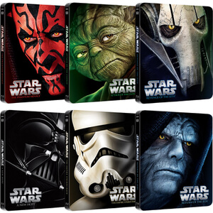 Star Wars Complete Collection – Limited Edition Steelbooks