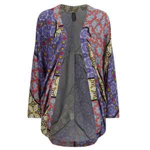 MINKPINK Women's Pepper and Splice Circular Kimono Cape - Multi