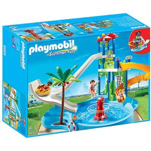 Parc aquatique avec toboggans géants (6669) -Playmobil Summer Fun