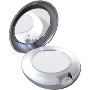 트위저맨 LED 라이티드 10X / 1X 컴팩트 미러 (TWEEZERMAN LED LIGHTED 10X/1X COMPACT MIRROR)