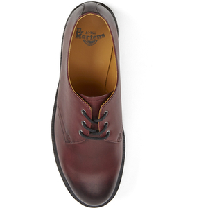 Dr. Martens Men's 1461 Antique Temperley Full Grain Smooth Leather 3-Eye Shoes - Cherry Red: Image 3