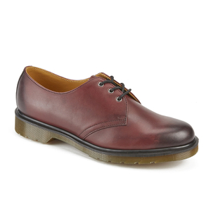 Dr. Martens Men's 1461 Antique Temperley Full Grain Smooth Leather 3-Eye Shoes - Cherry Red: Image 2