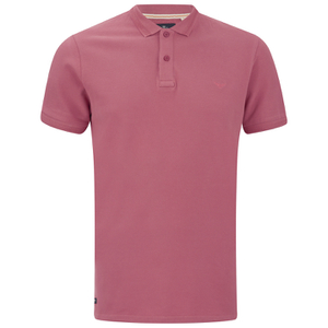 Threadbare Men's Fred Polo Shirt - Coral