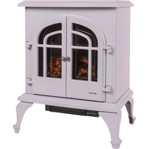 Warmlite WL46001MA/MOB Log Effect Stove Fire - Mauve - 2000W