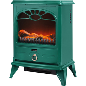 Warmlite WL46014G Stove Fire - Green - 2000W