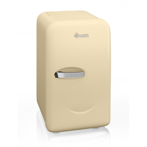 Swan SRE10010CN Retro Mini Fridge - Cream