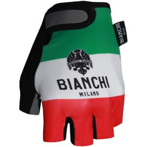Bianchi Men's Ter Mitts - Green/White/Red