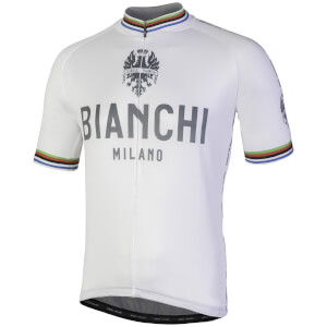 Bianchi Pride Short Sleeve Jersey - White