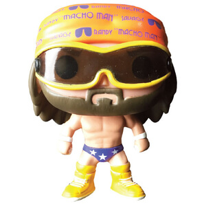 WWE Rety Savage Macho Man Figurine Funko Pop!