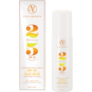 Vita Liberata Passionflower & Argan Dry Oil LSF 25 100ml