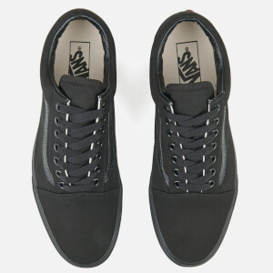 Vans Old Skool Trainers - Black: Image 2
